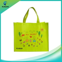 Wholesale custom foldable tote nonwoven bag shopping bags with logo