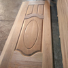 HDF MDF Moulded Door Skins with Sapelli or okoume used for door production in China