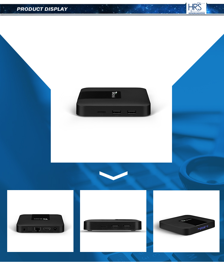 most popular set top box 2gb + 16gb quad core android 7.1 wifi tv box 1gb+8gb preinstalled kd player