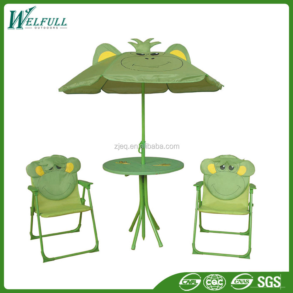 2015 New Lovey Animal Garden Folding Kid Chair and Table Set