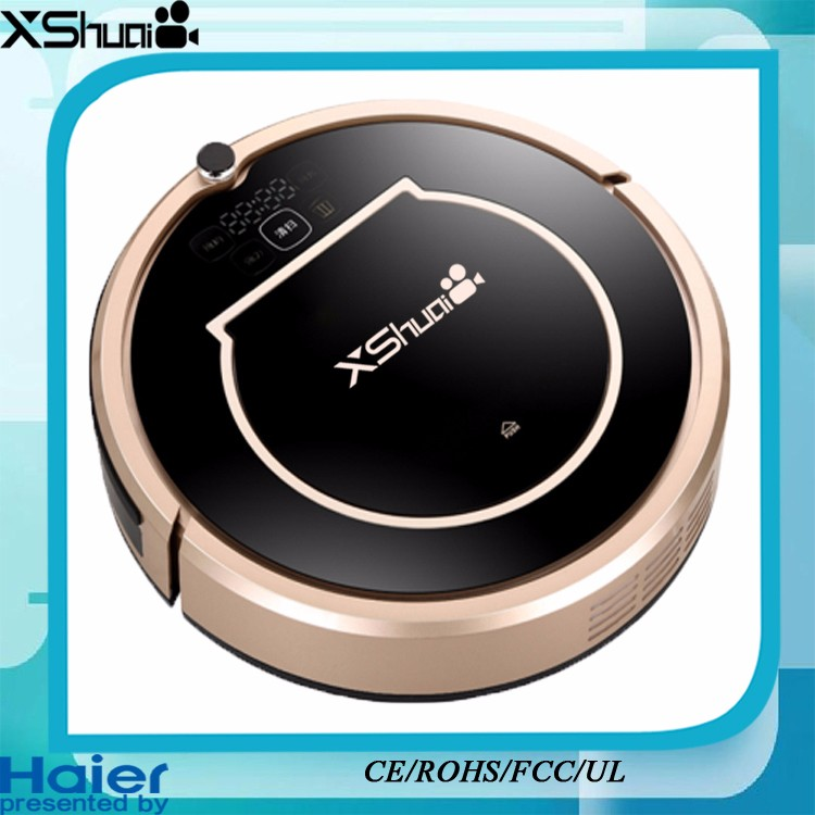 Classic Xshuai 110&220V Vacuum Bot With Water Tank Mopping Presented By Haier