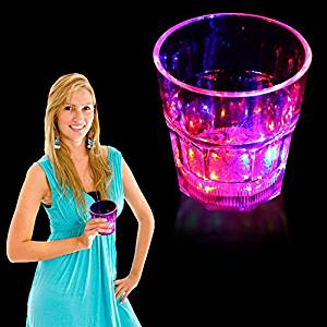 LED Rocks Glass-8oz
