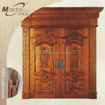 Turkish Main Entrance Wooden Double Door Designs For Home