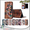 For Apple iPhone 7 pro hybrid card holder flip leather case cover