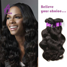 Double drawn Factory vendor Malaysian Virgin Remy hair extension human hair