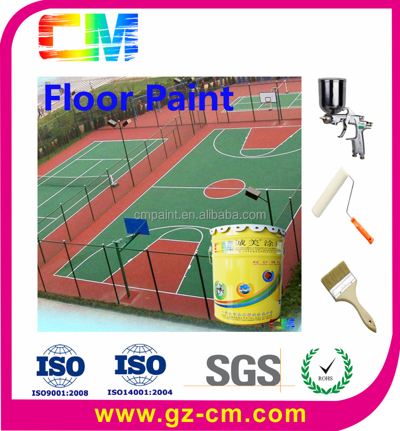 2016 High Performance PU Polyurethane Floor Paint For Sport Court