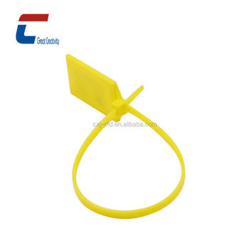 8ad36247ac85 Cheap price LF/HF/UHF Tamper proof RFID zip tie container e locker cable