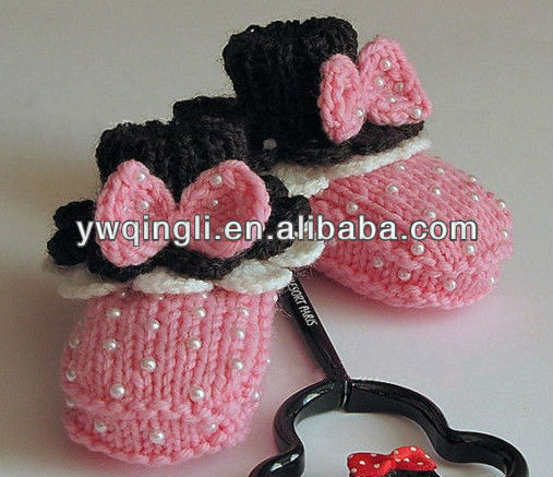 Hand made Crochet Baby and Toddler Shoes