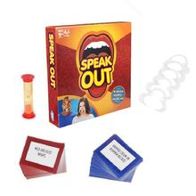 Funny Mouthpiece Speak Out game Great Family Gift Party Board Game Christmas Gift