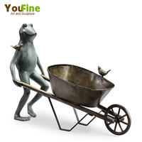 New Design Garden Frog Statues Yard Art For Sale