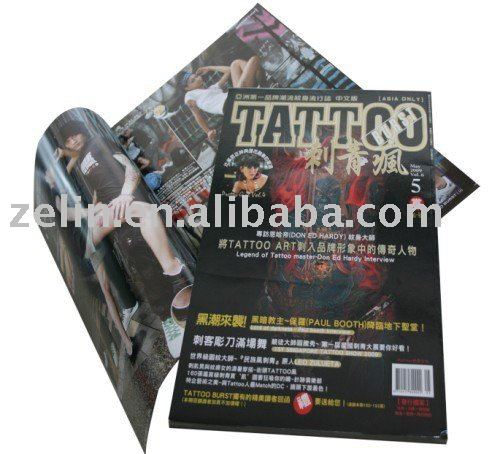 popular tattoo book and flash
