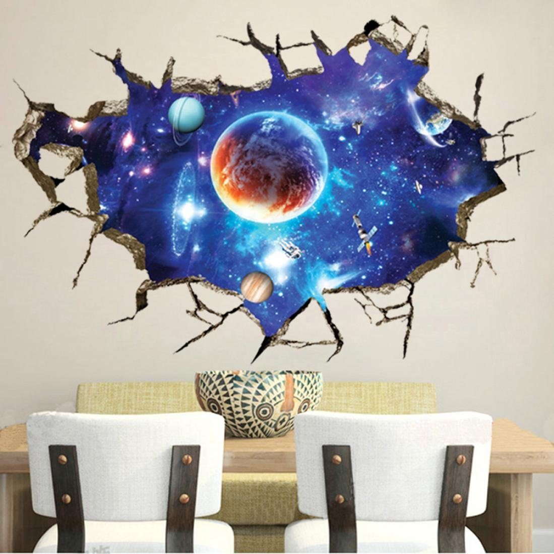Buy Iuhan Fashion Removable Dolphin 3d Sea Ocean Stickers