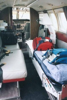 Beech King Air 90s Ambulance Stretcher