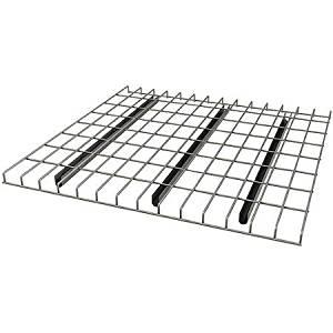 """Pallet Rack Wire Decking, 58"""" x 42"""", Silver"""