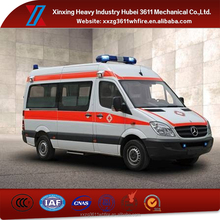 China Supplier New Manual Emergency Rescue Germany Ambulance Van