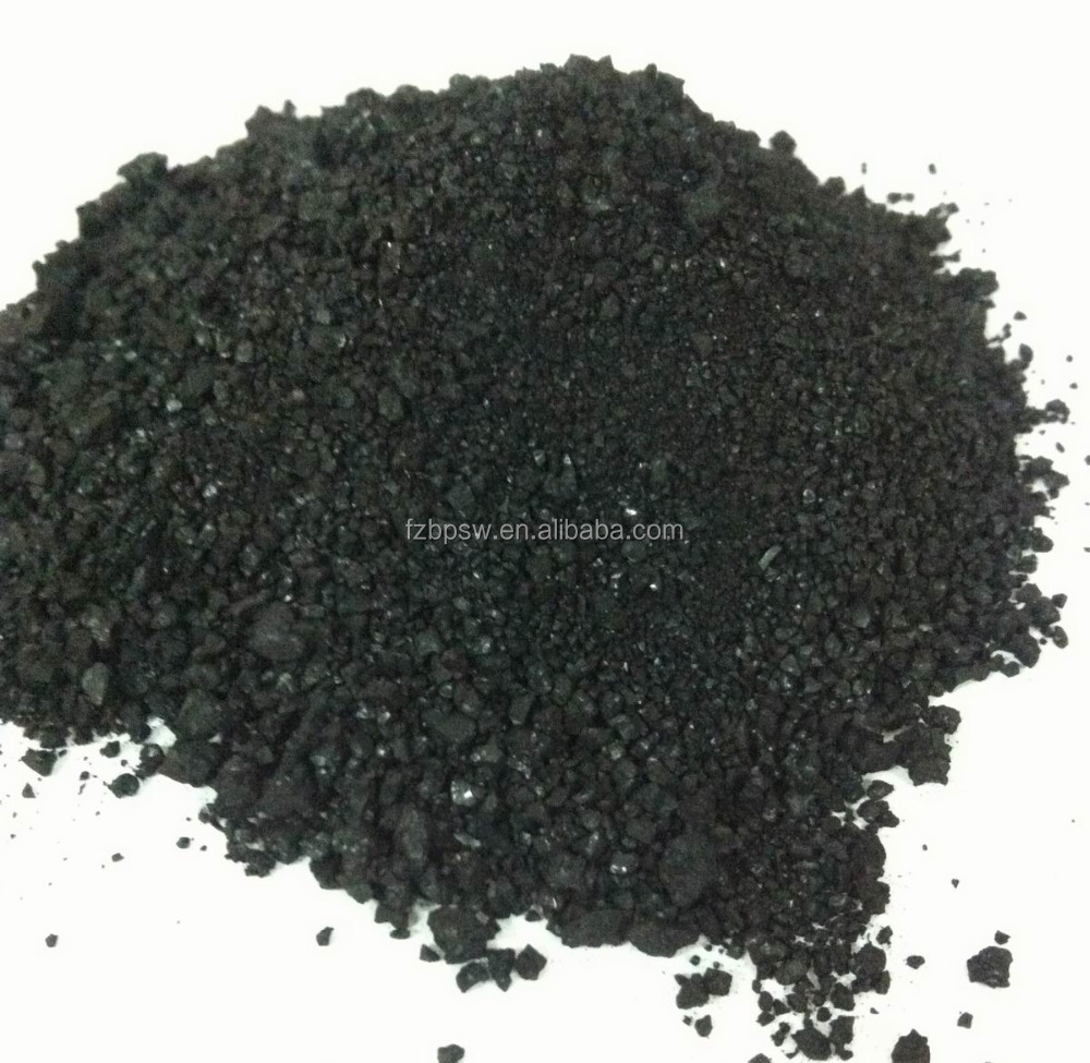 Black organic fertilizer of seaweed extract, price for organic manure
