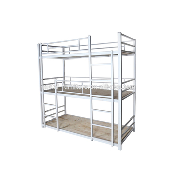 Army Hostel 3 Person Triple Loft Beds Used Adult Cheap Dorm Bunk Bed