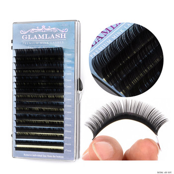 GLAMLASH Groothandel Private Label Premium Nertsen Valse Individuele Wimper Extension Met Klant Pakket Wimpers