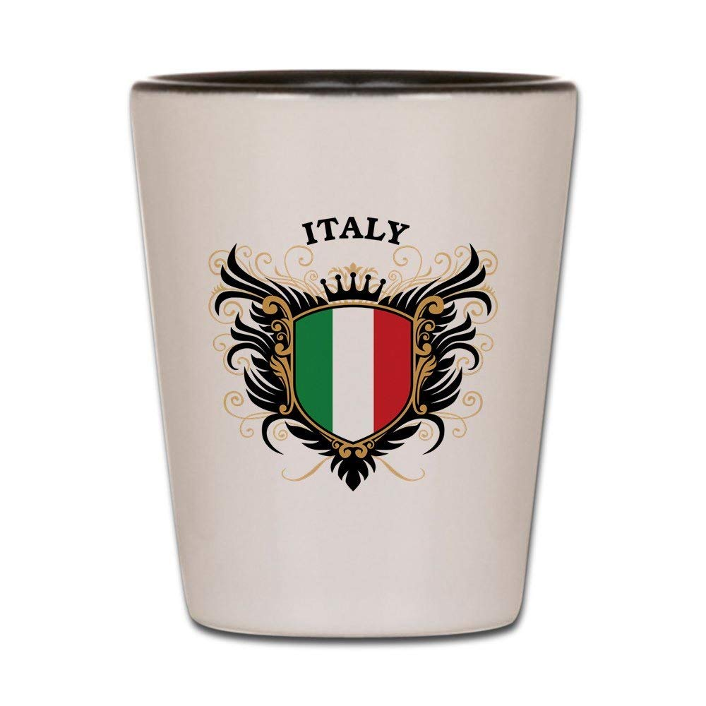CafePress - Italy Shot Glass - Shot Glass, Unique and Funny Shot Glass