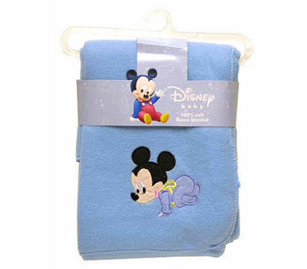 Disney Baby Minnie Mouse Applique 100% Soft Fleece Blanket