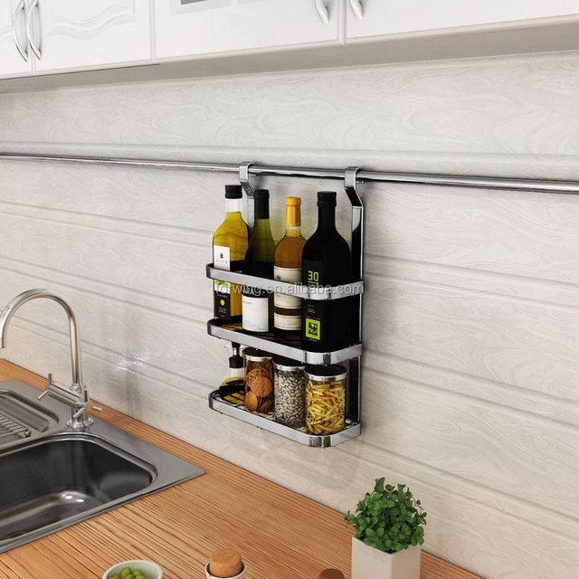Metal Kitchen Wall Hanging Utensil Rack/ Kitchen Storage Holders