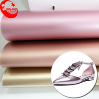 Warmly Welcomed New Pattern Metallic Silk Luster TPU and Microfiber Artificial Leather