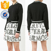 Bomber Jacket Mini Dress Latest New Design Women Clothing Wholesaler China Guangdong(TS1386D)