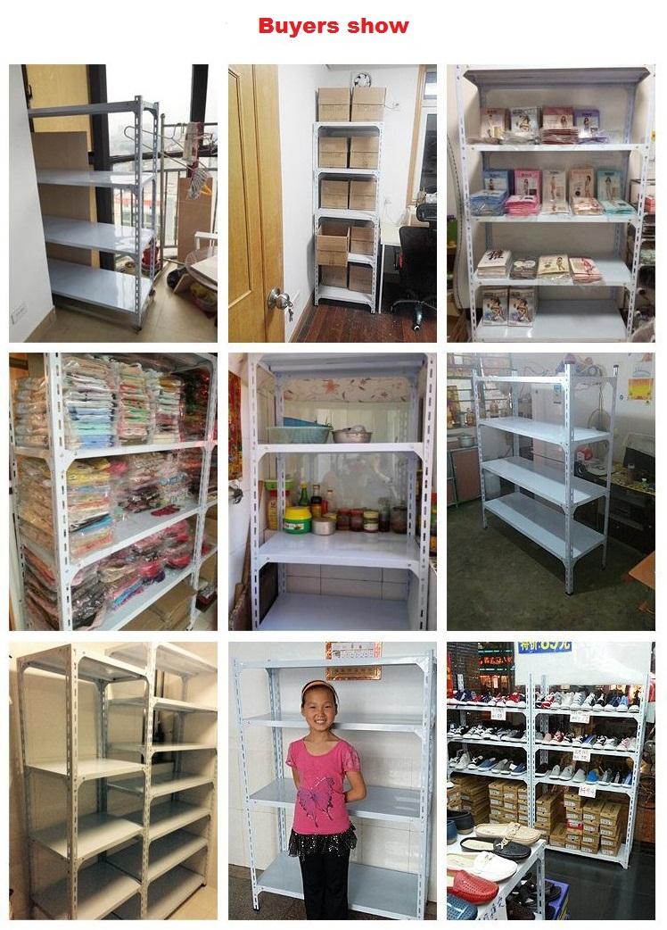 Q235 powder coated steel angle iron shelving racking