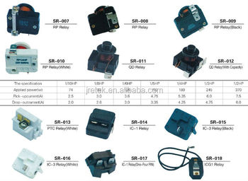 refrigerator compressor relay ptc start relay buy refrigerator compressor relay ptc start