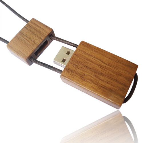 Newest Custom USB Flash Drive Wood Bamboo/Walnut Bulk Memory Stick