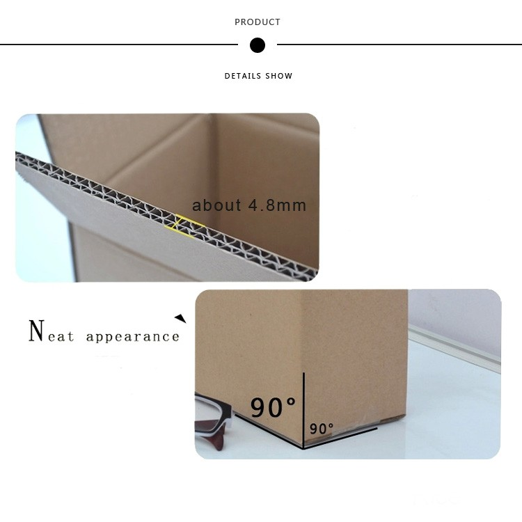 wholesale empty custom size cardboard boxes for packaging