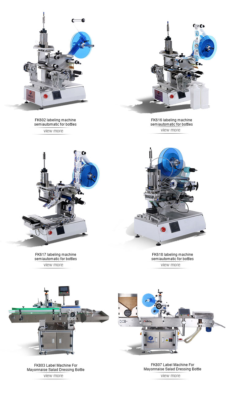 FK617 Flat Labeling Machine&Packaging And Labeling Machine Price