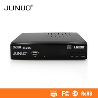 JUNUO hd receiver top 10 DVB-T2 set top box support h 265 dvb-t2 mepg4