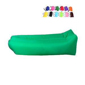 Inflatable Lounger Sofa Chair Hammock and Pool Float with Carrying Bag and Stake, Extra Strength Large Air Lounge Bag