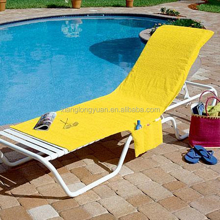 Awe Inspiring Beach Towel Style Terry Stripe Chaise Lounge Cover 28 X 78 Alphanode Cool Chair Designs And Ideas Alphanodeonline