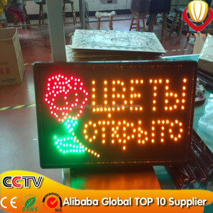 2016 new product advertisement led sign board new design led light board