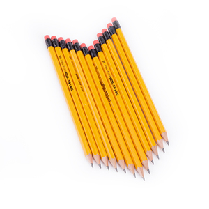 Free sample wooden lead hb pencil