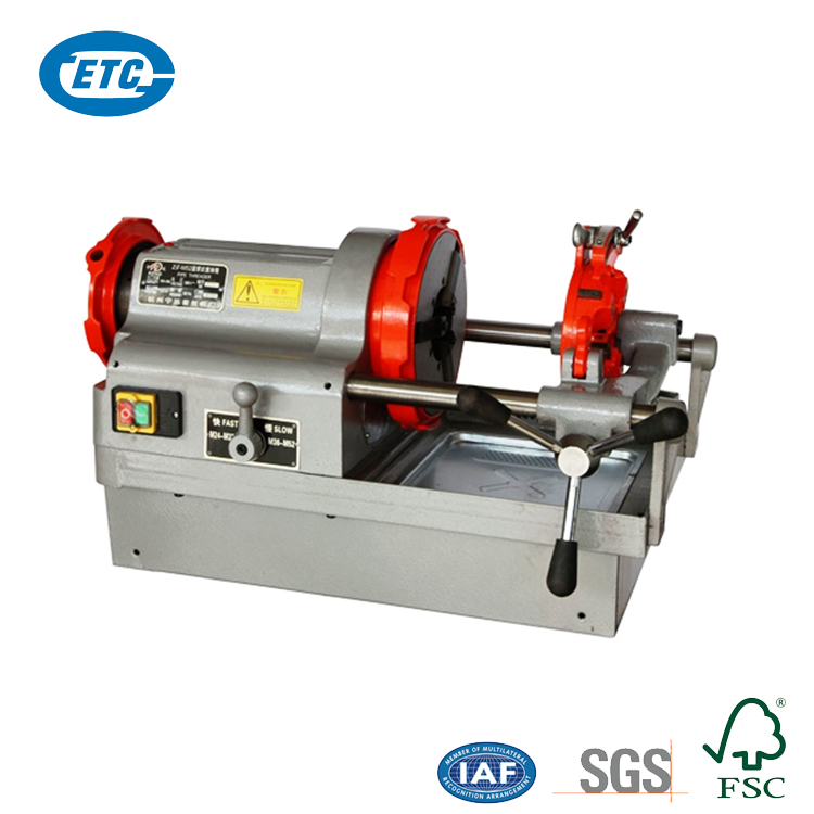 """Professional Design Automatic 1/2-3"""" 750W 3 Inch Portable Electric Pipe Threading Machine"""