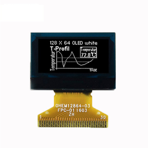 Passive Matrix display 128x64 dots 0.96inch oled lcd screen