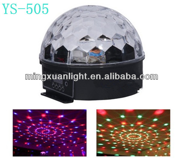 Magic crystal full color led light disco ball price
