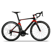Fashion lady racing bike 700C full super light weight carbon fiber road bike