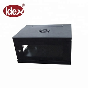 9u wall mount rack 600*450mm 600*600mm front door open network cabinet