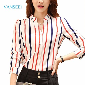 blouse rood wit blauw