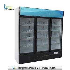 Supermarket&Household vertical belly-wash refrigerator stand for diaply