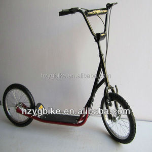 16 Inch Big Wheel Popular Freestyle BMX Scooter/Kick Scooter for adults