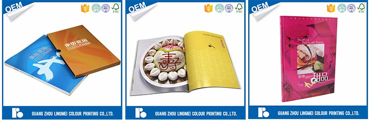 Hot sale custom CMYK offset printing on demand book manufacturers