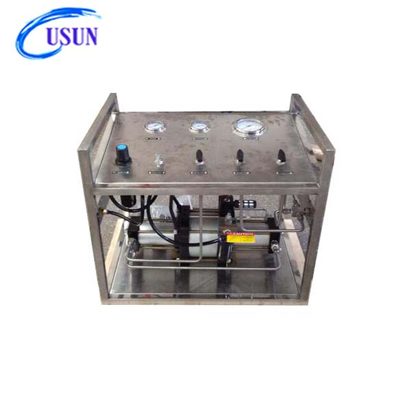 New arrival USUN Model:WS-WD04 15-30 Bar output air driven LPG gas transfer pump station