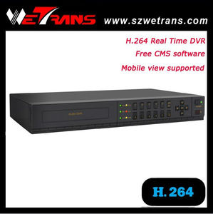 In stock Security camera 8 CH DVR H.264 Support audio and alarm P2P 960H surveillance dvr housing