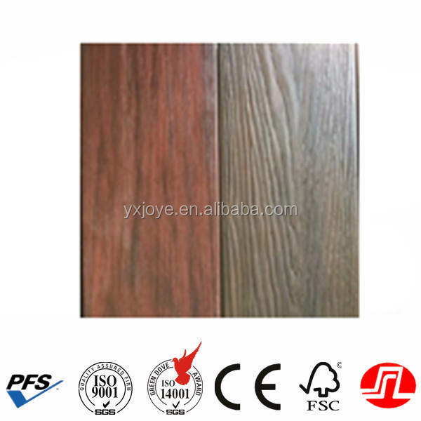 crack-resistant waterproof co-extrusion type Wood Plastic Composite Decking with good quality