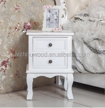 Elegant hot sale bedside table / stylish simple nightstand
